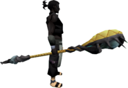 Privateer Serpent Sceptre equipped