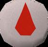 Blood rune (Dungeoneering) detail