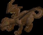 Bronze dragon old