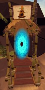 Evil tree portal