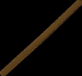 Fork handle detail