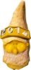 Golden gnome hat 2014 detail