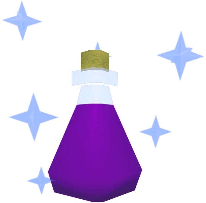 Luck potion detail