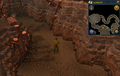 Scan clue Fremennik Slayer Dungeon in passage between basilisk and jelly chambers.png
