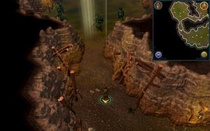 Scan clue Fremennik Slayer Dungeon in passage between kurask and aquanite chambers