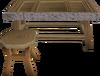 Steel framed bench built