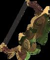 Arco-escudo ancião detalhe