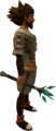 Crystal Peacock Wand equipped.png