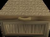 Oak fancy dress box