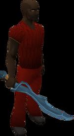 Rune scimitar equipped