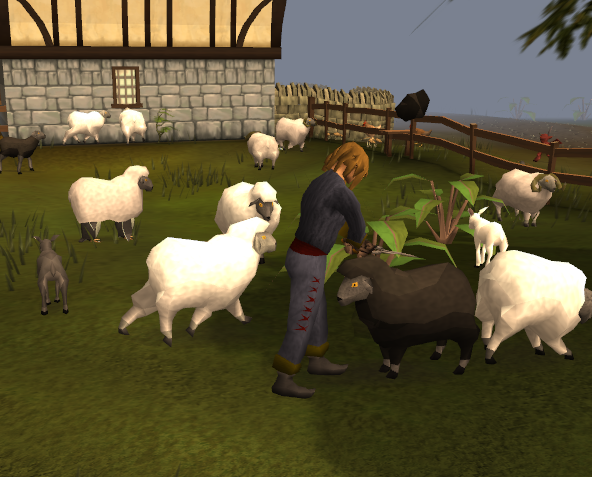 Sheep Shearer | RuneScape Wiki | FANDOM powered by Wikia