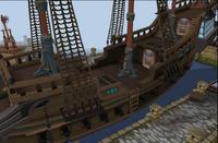 Shimmering Azure Hull