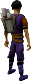 Bag of clues equipped