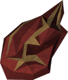 Flame fragment (Master Farmer) detail