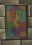 Guthix stained glass