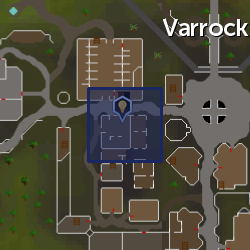 Inventor's workbench (Varrock) location