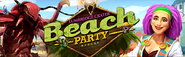 Lumbridge Crater Beach Party (2017) lobby banner