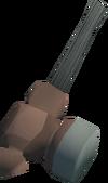 Off-hand warhammer (class 3) detail