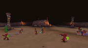 Players hunting imps
