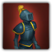Replica metal plate armour icon