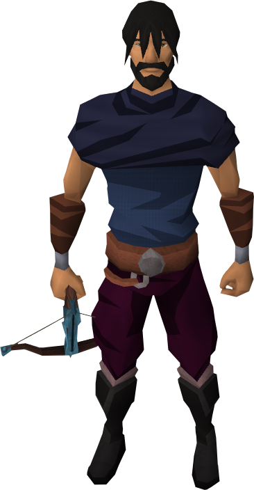 Rune crossbow equipped