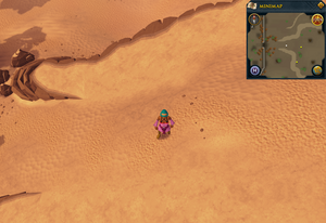 Compass clue Al Kharid west of desert strykewyrms