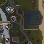 Devotion Sprite (Lumbridge Cow Field) location