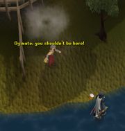 Drunken Dwarf on Tutorial Island