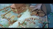 Kindred Spirits barrows farm unused concept art