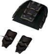 Lucky Bandos tassets detail