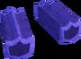 Purple shield key detail