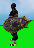 Shield of Clubs equipped