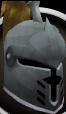 Steel heraldic helm (Dorgeshuun) chathead