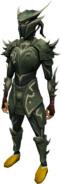 Elite sirenic armour set (barrows) equipped