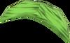 Green banana detail