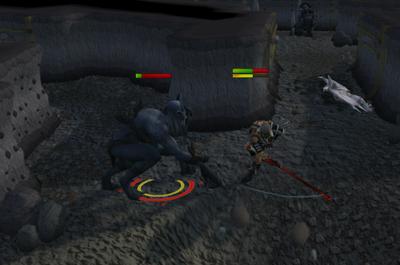 Killing cave horrors