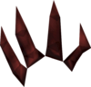 Lesser demon claw detail