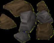 Minério de estanho detalhe