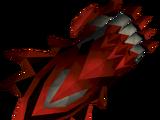 Off-hand dragon claw