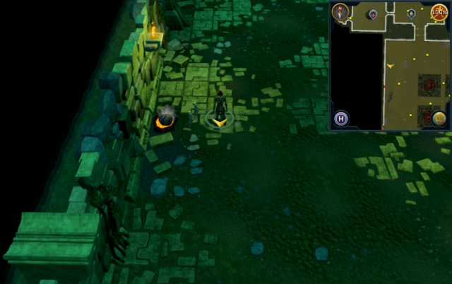 File:Scan clue Brimhaven Dungeon lower level north of entrance to Brimhaven resource dungeon.png