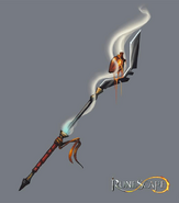 Staff of darkness concept art
