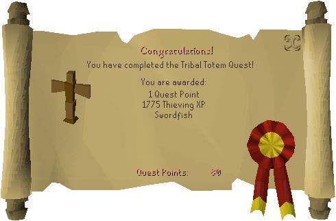Tribal Totem Reward