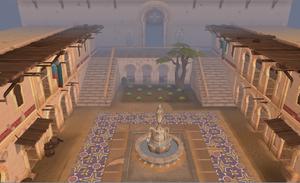 Abadia de Citarista pátio