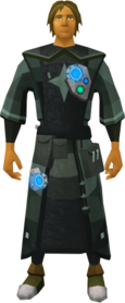 Augmented Akrisae's set equipped