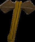 Bronze battleaxe detail old