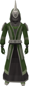 Bryll robes equipped
