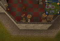 Cryptic clue Monastery south of Ardougne