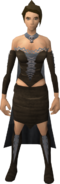 Gothic outfit equipped (female)