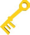 Key (orange) detail