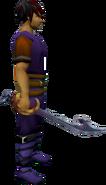 Rabid Jack sword equipped
